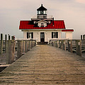 Manteo Lighthouse by Cindy Haggerty