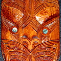 Maori Mask One by Laurel Talabere