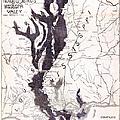 Map: Mississippi River, 1874 by Granger