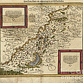 Map Of Palestine, 1588 by Photo Researchers