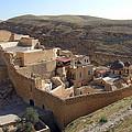 Mar Saba Monastery by Munir Alawi