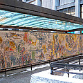 Marc Chagall Mosaic by David Bearden
