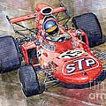 March 711 Ford Ronnie Peterson Gp Italia 1971 by Yuriy  Shevchuk