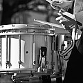 Marching Band Drummer Boy Bw by James BO Insogna