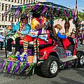 Mardi Gras Clowning by Steve Harrington
