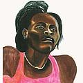 Maria Mutola by Emmanuel Baliyanga