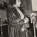 Marian Anderson 1897-1993, At A Nbc by Everett
