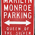 Marilyn Monroe Parking by David Pringle