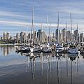 Marina At False Creek by Andrew Campbell