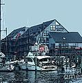 Marina On Chesapeake Bay by Elinor Mavor