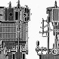 Marine Steam Engine, 1878 by Granger