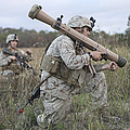 Marines Conduct A Simulated Attack by Stocktrek Images