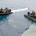 Marines Depart The Well Deck by Stocktrek Images
