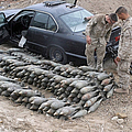 Marines Discover A Weapons Cache by Stocktrek Images