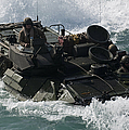 Marines Drive An Amphibious Assault by Stocktrek Images