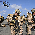 Marines Position Themselves by Stocktrek Images