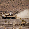 Marines Roll Through The Combat Center by Stocktrek Images