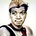 Mario Moreno As Cantinflas In El Bombero Atomico  by Jim Fitzpatrick
