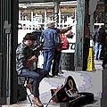 Market Busker 2 by Tim Allen