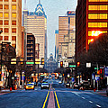 Market Street In The Morning by Bill Cannon