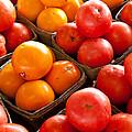 Market Tomatoes by Lauri Novak