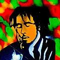 Marley Rasta Guitar by Tony B Conscious