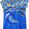 Marlin Ladies Shirt by Carey Chen