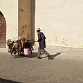 Marrakech Old Town Street Life by Pat Garret