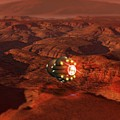 Mars Probe, Conceptual Artwork by Victor Habbick Visions