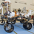 Mars Science Laboratory Rover by Stocktrek Images