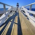 Marshal Point Lighthouse Walkway by Jack Daulton