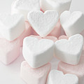 Marshmallow Love Hearts by Kim Haddon Photography