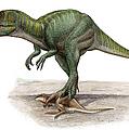 Marshosaurus Bicentesimus by Sergey Krasovskiy