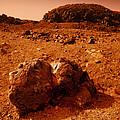 Martian Landscape by Detlev Van Ravenswaay