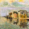 Martigues In The South Of France by Gustave Loiseau