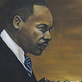 Martin Luther King Jr - From The Mountaintop by Dwayne Glapion
