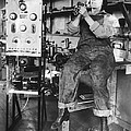 Mary Loomis, Radio School Operator by Science Source