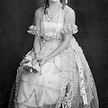 Mary Pickford In Her Wedding Dress, 1920 by Everett
