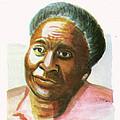 Maryse Conde by Emmanuel Baliyanga