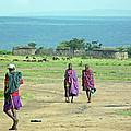 Masai Village by Tony Murtagh