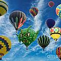 Mass Hot Air Balloon Launch by Paul Ward