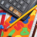 Mathematics Tools by Photo Researchers, Inc.
