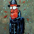 Matisse Juggling Fish In The Rain In His Brain by Charlie Spear
