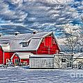 Matsqui Barn Hdr by Randy Harris