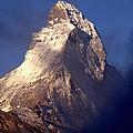 Matterhorn Morning-2 by Chlaus Loetscher