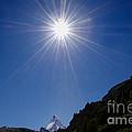 Matterhorn With Sunbeam by Mats Silvan