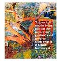 Matthew 5 by Fania Simon