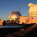 Mauna Kea Observatories by Scott Rackers