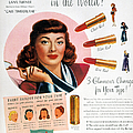 Max Factor Lipstick Ad by Granger