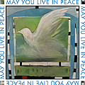 May You Live In Peace Poster by Tim Nyberg
